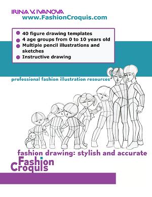 Childrenswear Fashion Illustration