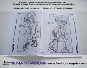 Childrenswear fashion design. Boys� apparel.